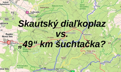 "Skautský diaľkoplaz vs. ""49km"" šuchtačka (2. pokus)"
