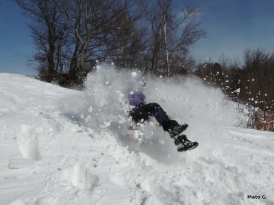 Sánkovačka - snehovačka